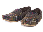 Barbour Ashworth Tartan Slipper