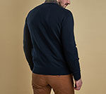 Barbour Pima Cotton V-Neck Jumper
