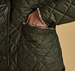Barbour Ladies Evelyn Quilt with Liberty Print