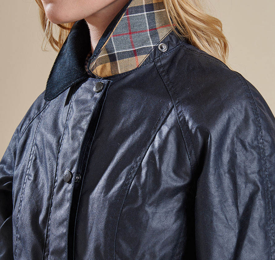 Barbour Ladies Chamber Beadnell Waxed Jacket