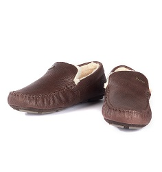 Barbour Leather Monty Slipper