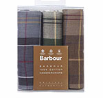 Barbour triple handkerchiefs