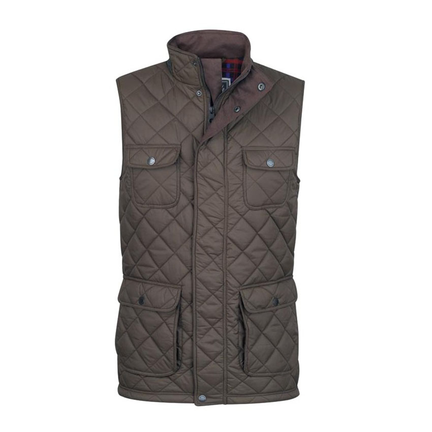 Jack Murphy Timothy Quilted Gilet