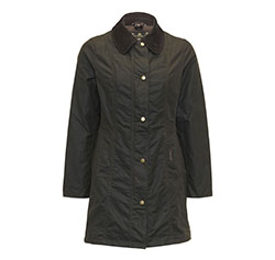 Barbour Ladies Belsay Waxed Coat