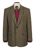 Harris Tweed Men's Taransay Classic Sports Jacket