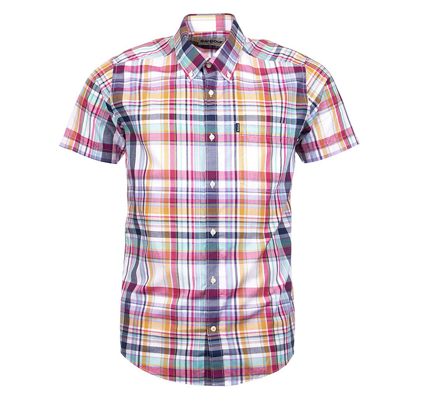 Barbour Mens Fred Short Sleeve Shirt ...