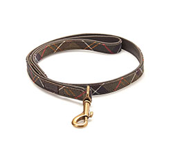 Barbour Tartan Web Dog Lead
