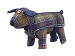 Barbour Waterproof Tartan Dog Coat